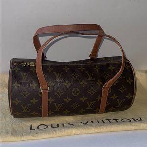 Authentic Louis Vuitton papillon 30 Boston rollbag